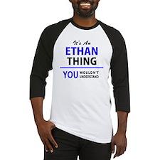 Funny Ethan Baseball Jersey