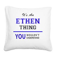 Cute Ethen Square Canvas Pillow