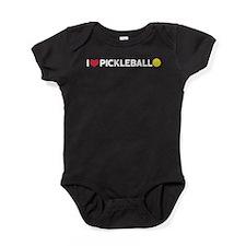 Pickleball Baby Bodysuit