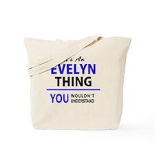 Unique Evelyn Tote Bag