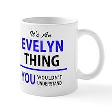 Unique Evelyn Mug
