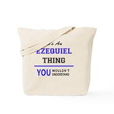 Cute Ezequiel Tote Bag