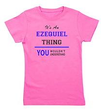 Cute Ezequiel Girl's Tee