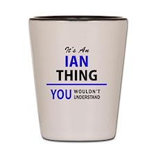 Cute Ian Shot Glass