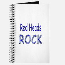 Red Heads Rock Journal