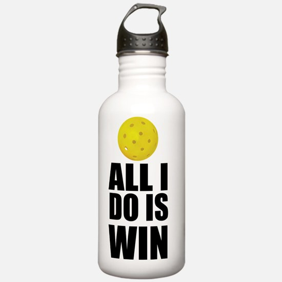 All I Do Is Win Pickle Water Bottle