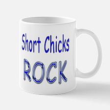 Short Chicks Rock Mug