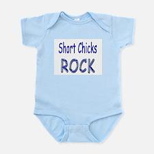 Short Chicks Rock Infant Bodysuit