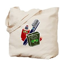 Toothbrush Toothpaste Floss Tote Bag