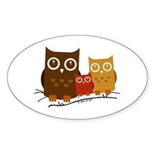 Three Owls Decal