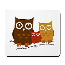Three Owls Mousepad