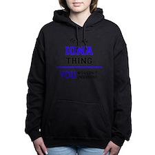 Cute Iona Women's Hooded Sweatshirt