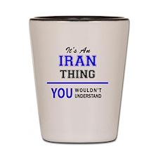 Cute Iran Shot Glass