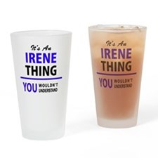 Unique Irene Drinking Glass