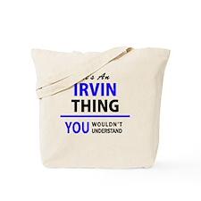 Funny Irvin Tote Bag