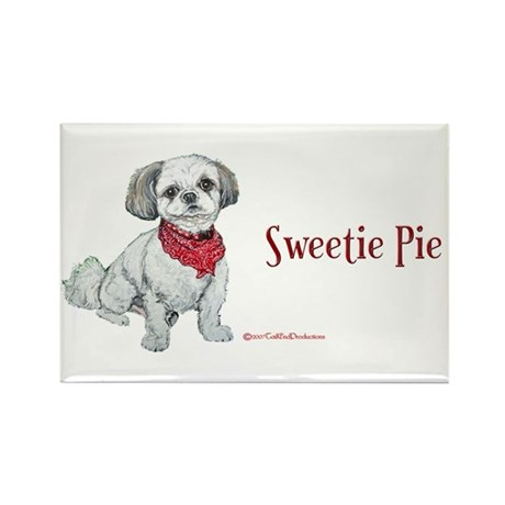 Sweetie Pie Shih Tzu Rectangle Magnet (10 pack)