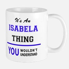 Unique Isabela Mug
