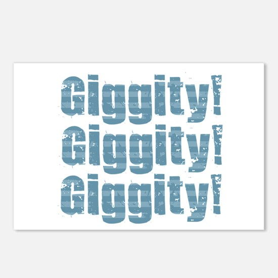 Giggity Giggity Giggity Postcards (Package of 8)