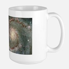 M51 the Whirlpool Galaxy Large Mug