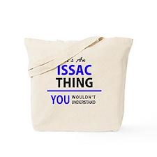 Cute Issac Tote Bag