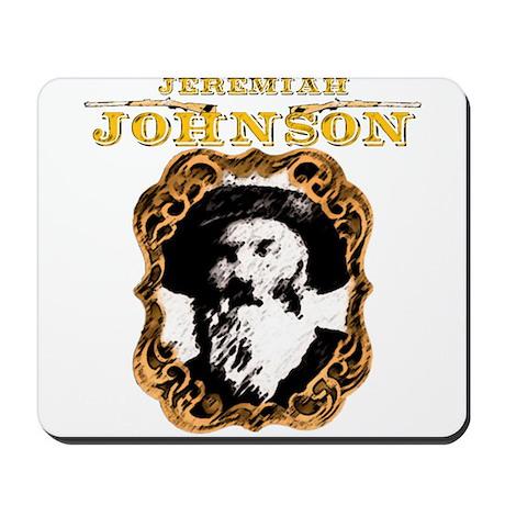 """Liver eating Johnson """" Jeremi Mousepad"""