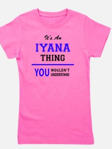 Cute Iyana Girl's Tee