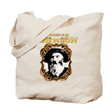 "Liver eating Johnson "" Jeremi Tote Bag"