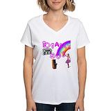 80\'s Womens V-Neck T-shirts