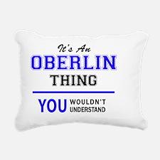 Funny Oberlin Rectangular Canvas Pillow