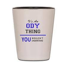 Funny Odie Shot Glass