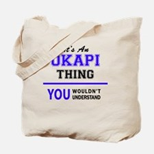Cute Okapi Tote Bag
