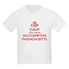 Keep calm you live in Southampton Massachu T-Shirt