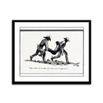 Boot Hill Framed Panel Print