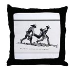 Boot Hill Throw Pillow
