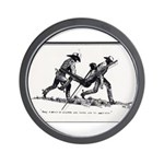 Boot Hill Wall Clock