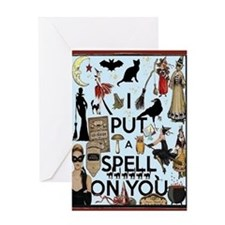 Spell Card Greeting Cards