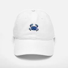 Blue Mosaic Dungeness Ctab Baseball Baseball Cap
