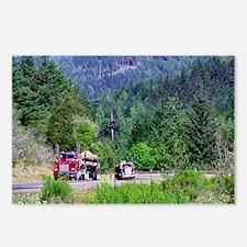 Hauling Logs Postcards (8)