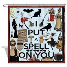 Spell Shower Curtain