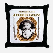 Liver eating Johnson Jeremiah Throw Pillow