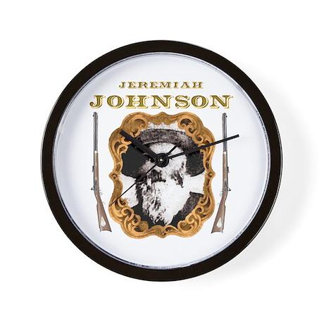 Liver eating Johnson Jeremiah Wall Clock