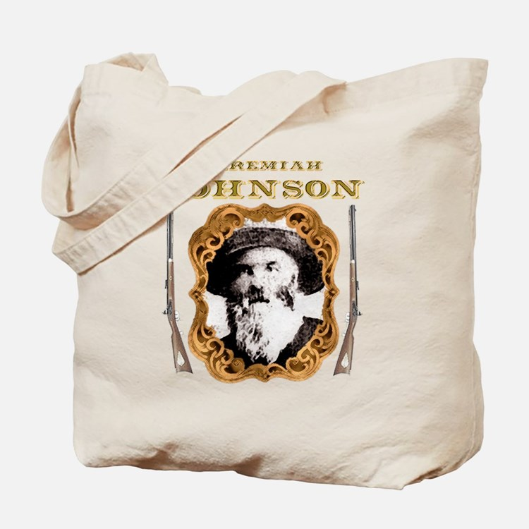 Liver eating Johnson Jeremiah Tote Bag