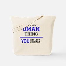Cute Oman Tote Bag