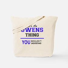 Unique Owen Tote Bag