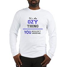 Cute Ozy Long Sleeve T-Shirt