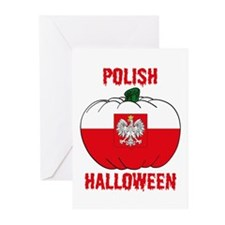 Polish Halloween Greeting Cards (Pk of 10)