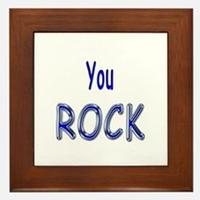 You Rock Framed Tile