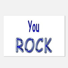 You Rock Postcards (Package of 8)