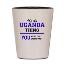 Cute Uganda Shot Glass
