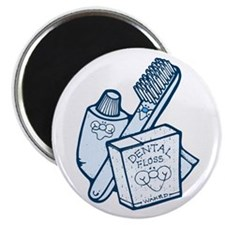 Toothbrush Toothpaste Floss Magnet